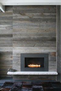 Minimalist Fireplace Cami Weinstein