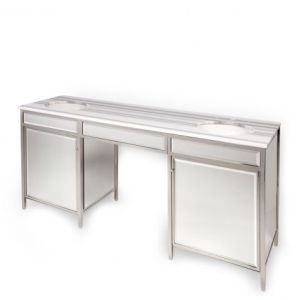 Henry Double Metal  Mirror Vanity Cami Weinstein