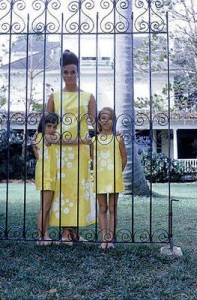 Lilly Pulitzer and Daughters Cami Weinstein
