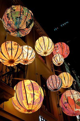 Hermes Paper Lanterns Cami Weinstein
