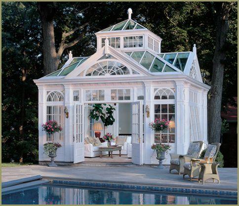 Poolside Conservatory Retreat Cami Weinstein