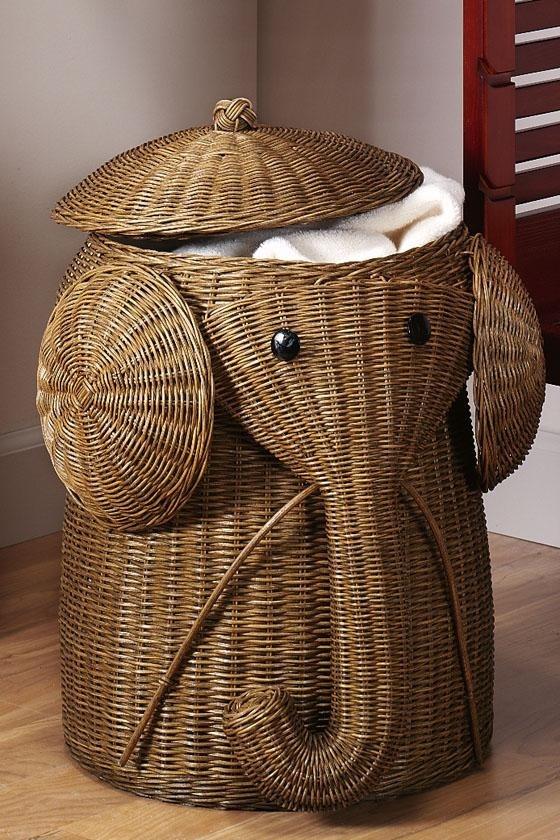 Elephant Hamper Nursery Design Cami Weinstein