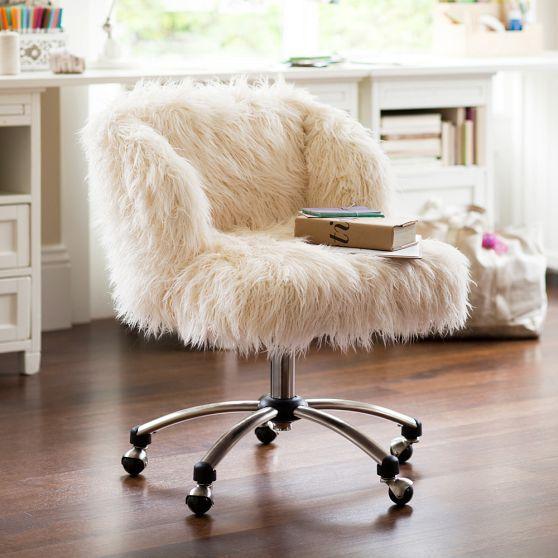 Fur Chair Cami Weinstein