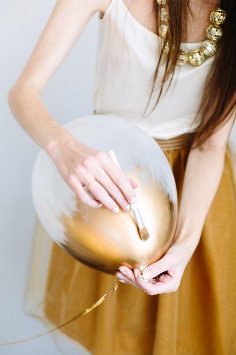Gold Balloons Cami Weinstein