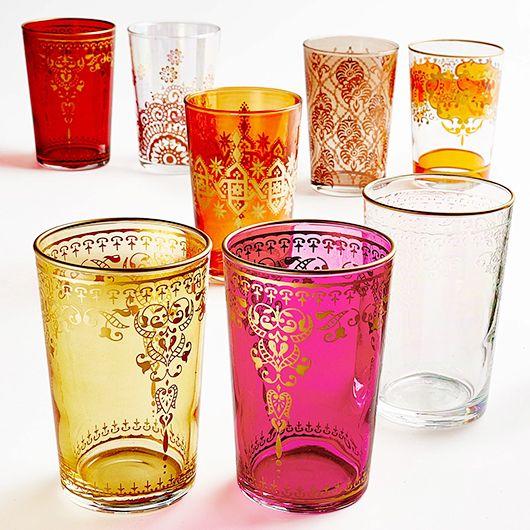 Moroccan Glassware Cami Weinstein