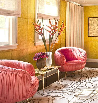 Pink Chairs Cami Weinstein