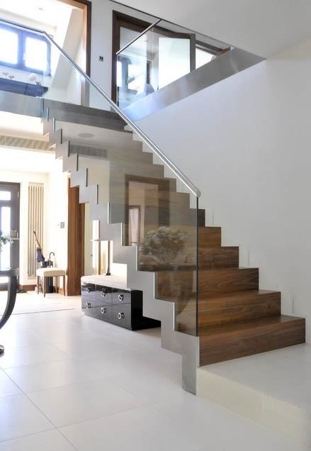 Modern Home Staircase Cami Weinstein