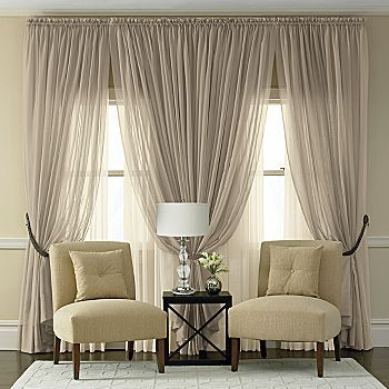Sheer Window Treatments Living Room Cami Weinstein