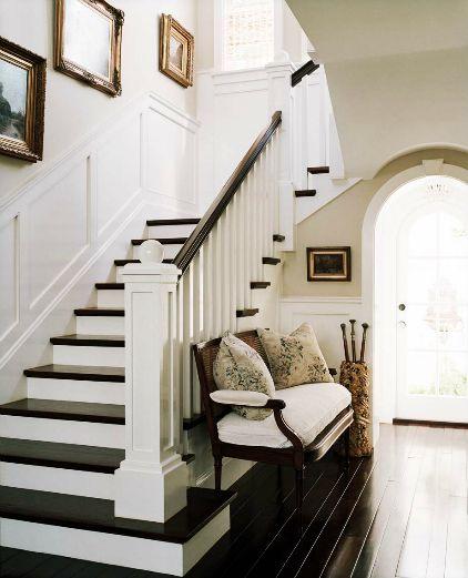 White Flare Step Staircase Cami Weinstein
