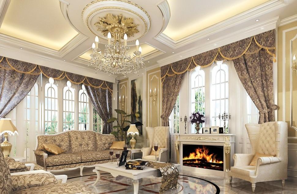 Ornate Living Room