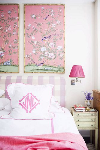 Preppy Chinoiserie Bedroom Cami Weinstein Design