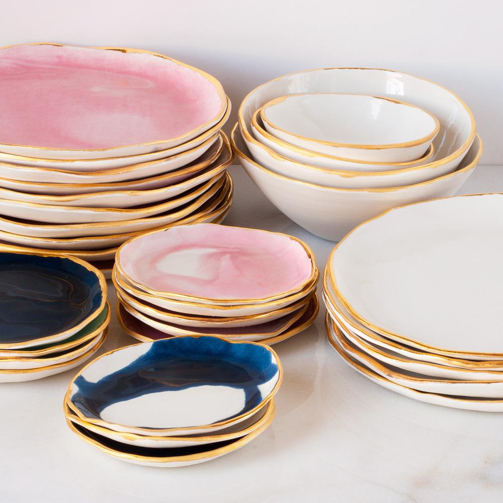 Suite One Studio Plates Cami Weinstein