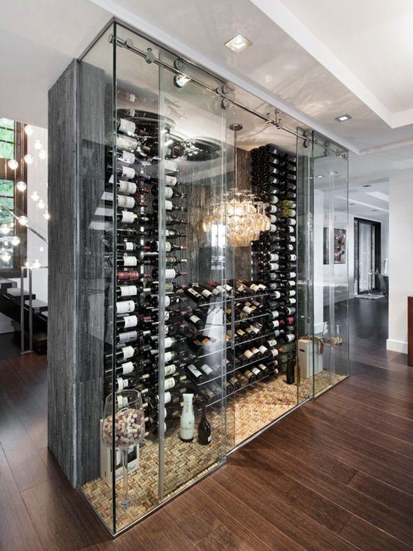 Free Standing Wine Cellar Cami Weinstein