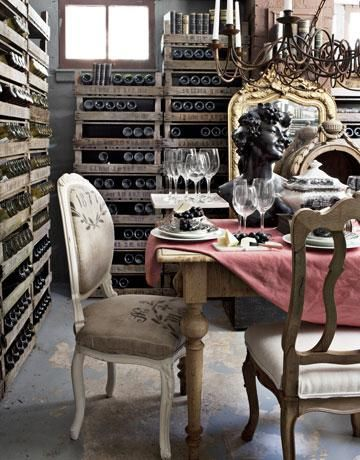 French Classic Wine Storage Cami Weinstein