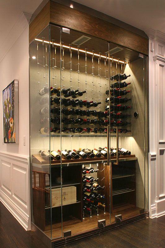 Modern Wine Storage Cami Weinstein