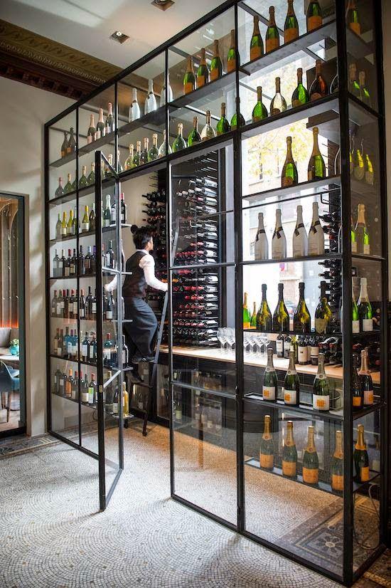 Restaurant Wine Storage Cami Weinstein