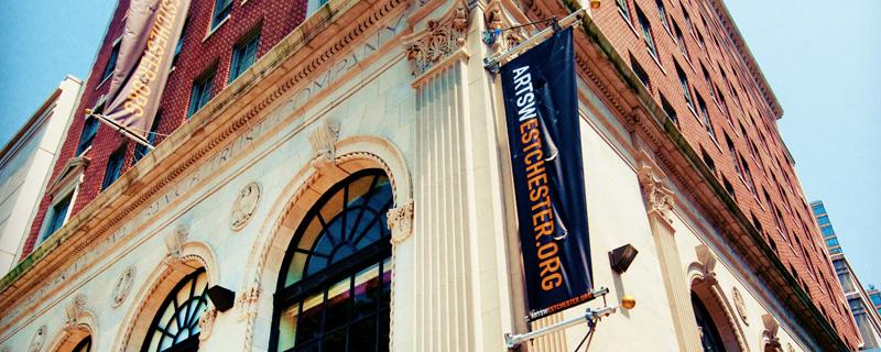 ArtsWestchester Building Exterior Cami Weinstein