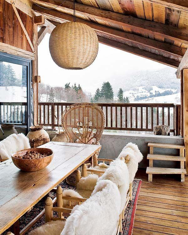 Cabin Porch Cami Weinstein