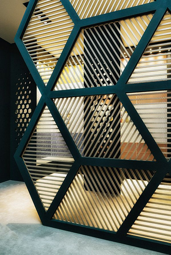 Hexagon Glass Walls Cami Weinstein