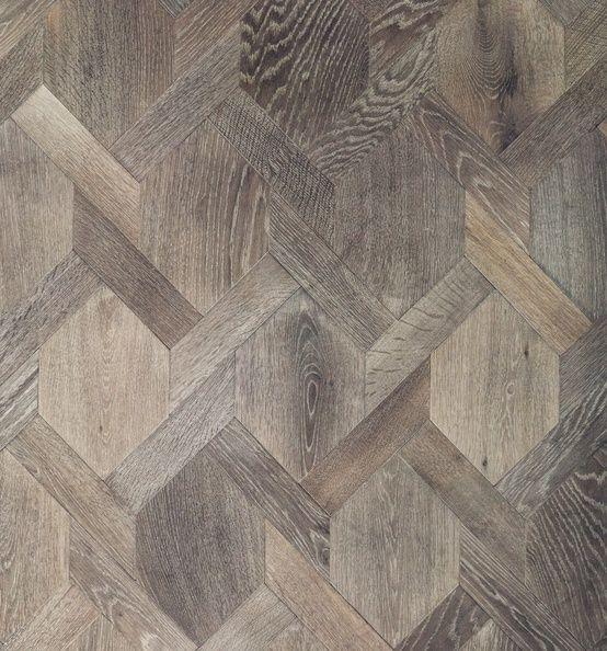 Hexagon Hardwood Flooring