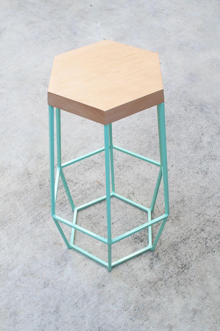 Hexagon Stool Cami Weinstein