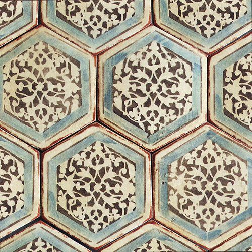 Hexagon Tiles Cami Weinstein