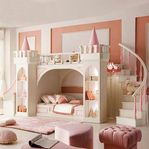 Bunk Bed Girls Room Cami Weinstein