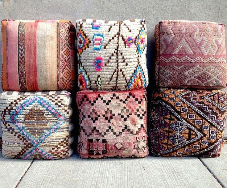 Moroccan Floor Pillow Cami Weinstein