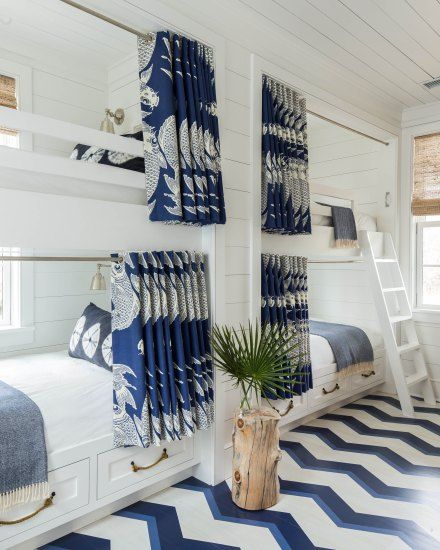 bunk room. Jenny Keenan project on Sullivan's Island