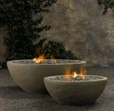 Outdoor Fireplace Restoration Hardware Cami Weinstein
