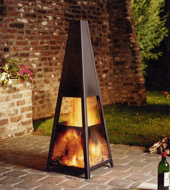 Outdoor Fireplace Structure Cami Weinstein