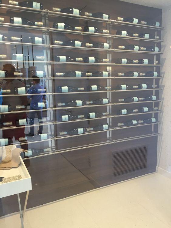 Wine Storage Wall Modernism Week Cami Weinstein