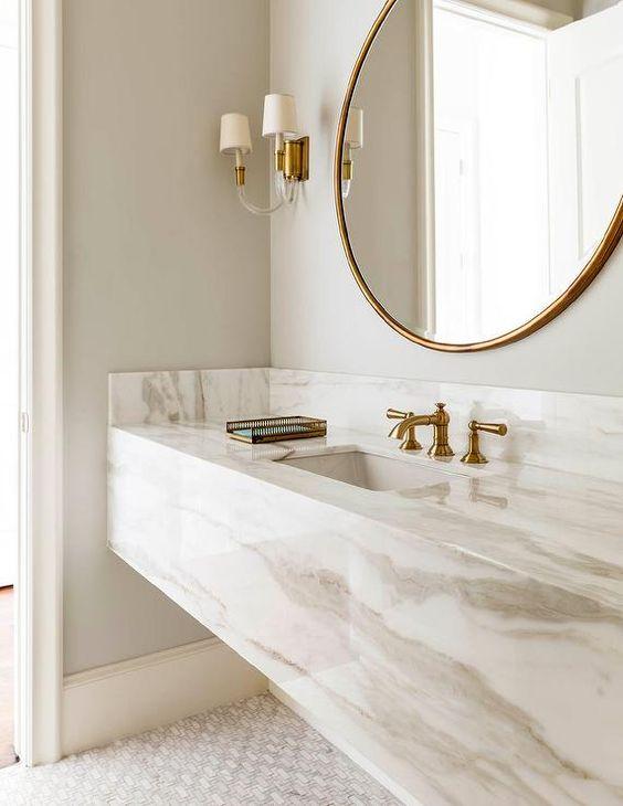 Brass Bathroom Sink Cami Weinstein