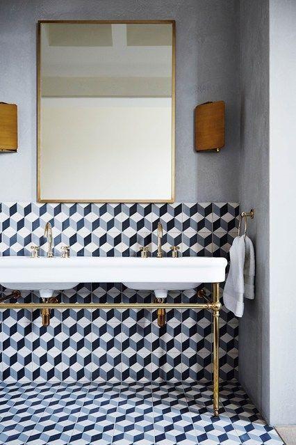 Cement Tile Bold Design Cami Weinstein