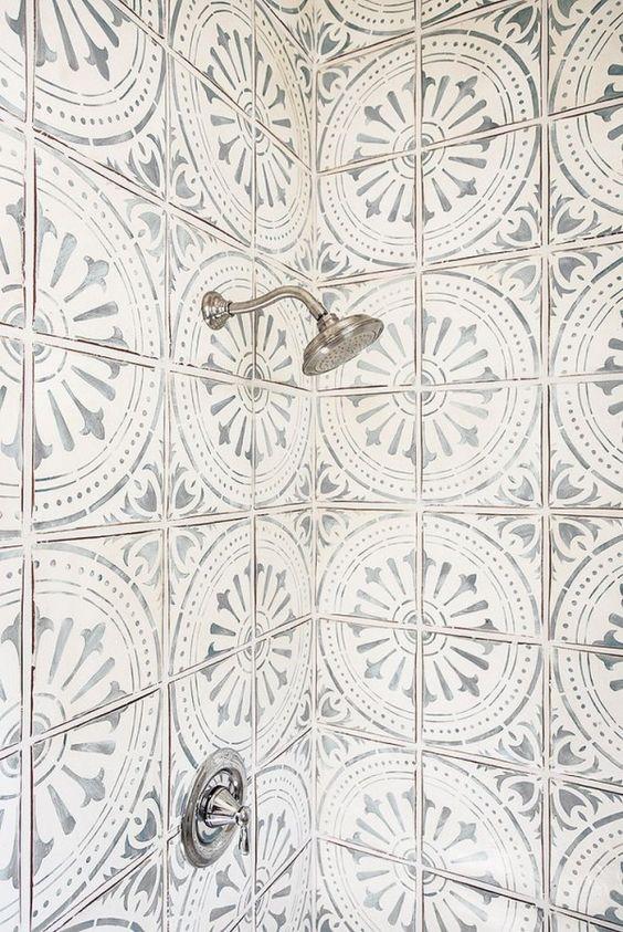 Cement Tile Shower Design Cami Weinstein