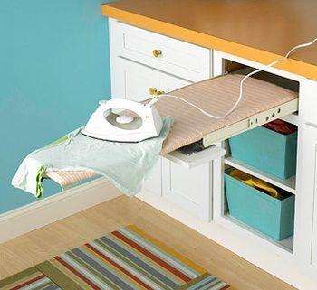 Laundry Room Ironing Board Design Cami Weinstein