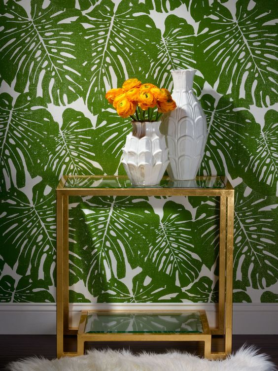 Traditional Modern Wallpaper Cami Weinstein