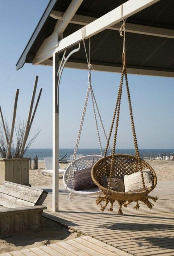Outdoor Hanging Chairs Cami Weinstein