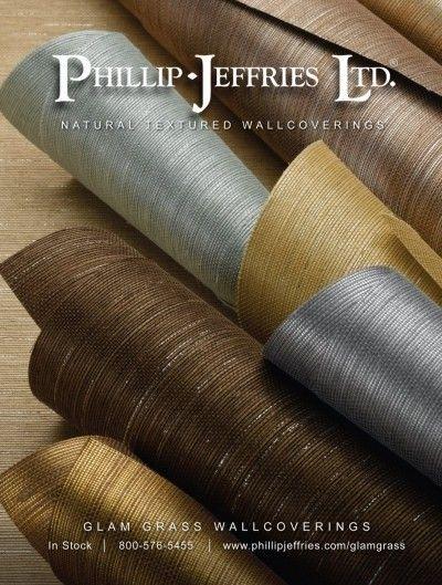 Phillip Jefferies Grasscloth Wallpaper Cami Weinstein Designs LLC