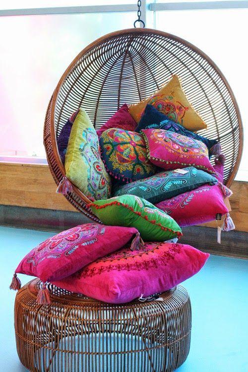 Wicker Throw Pillows Cami Weinstein