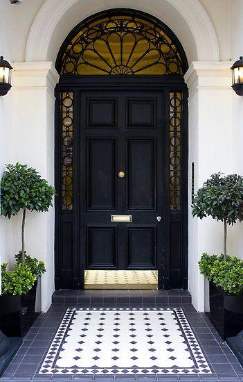 Black Painted Door Cami Weinstein