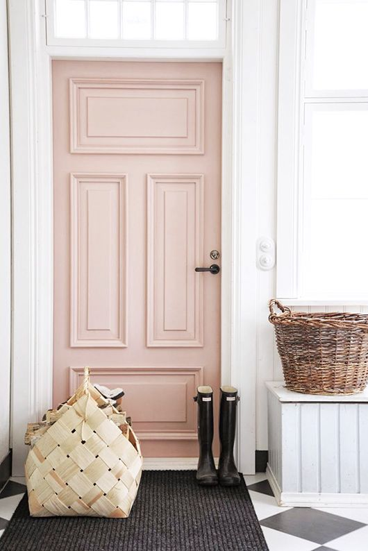 Blush Pink Front Door Cami Weinstein