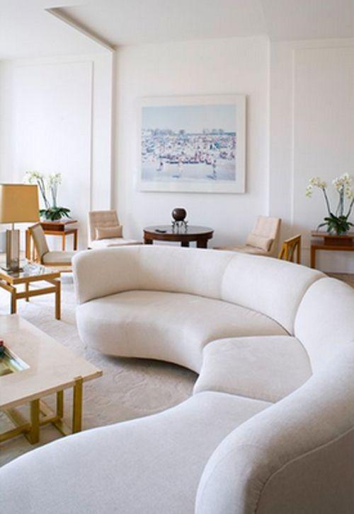 Curved Couch Cami Weinstein Design
