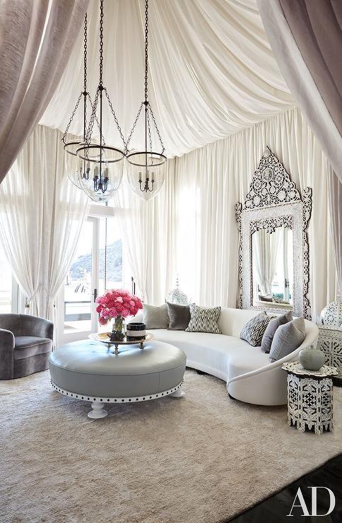 Khloe Kardashian Living Room Cami Weinstein Designs LLC