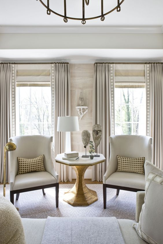 Sophisticated Window Treatments Cami Weinstein