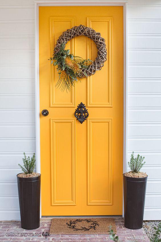 Sunshine Yellow Door Cami Weinstein