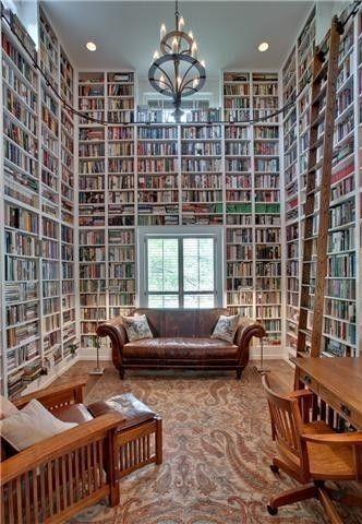 Elegant Home Library