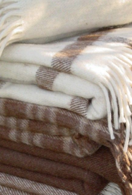 Llama Hair Blanket Cami Weinstein