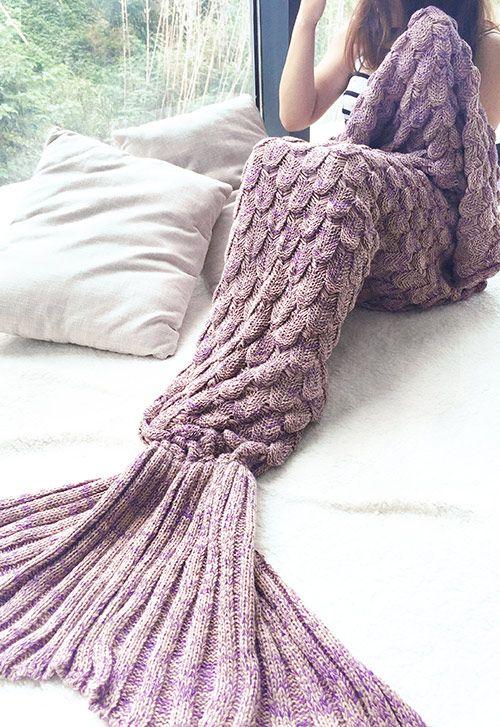 Mermaid Blanket Cami Weinstein