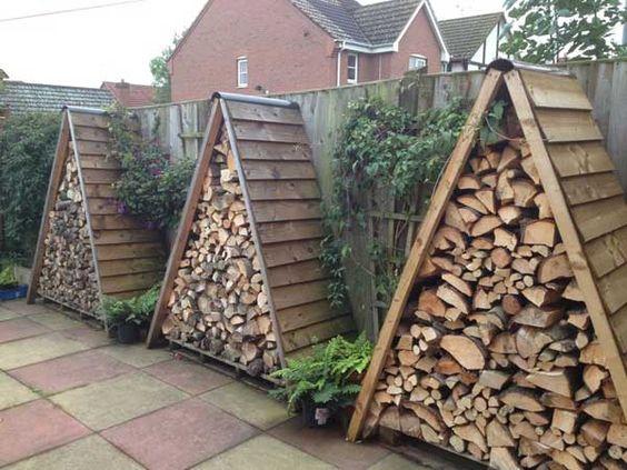 Outdoor Wood Storage Cami Weinstein